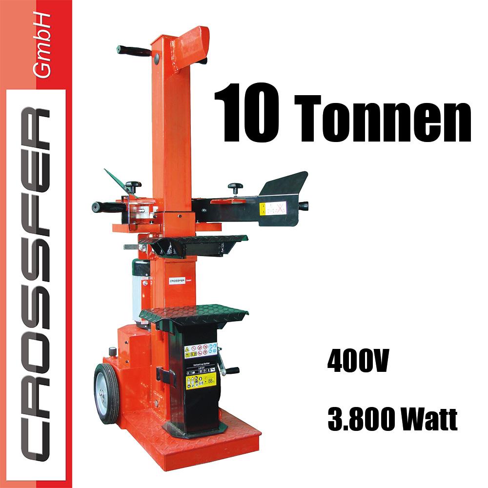 400V Holzspalter
