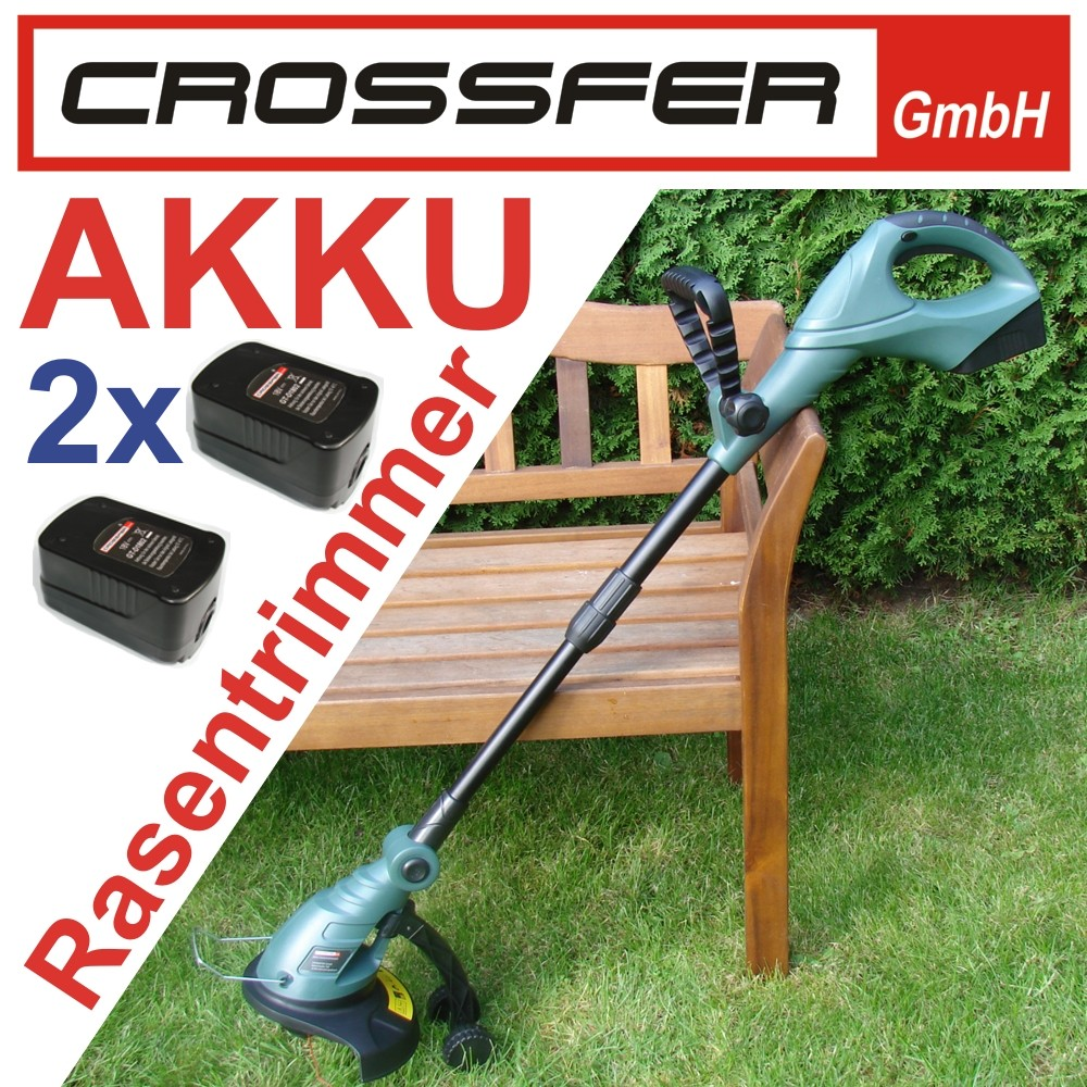 akku rasen trimmer crossfer noe 5et 230 li ion freischneider gras garten sense ebay. Black Bedroom Furniture Sets. Home Design Ideas