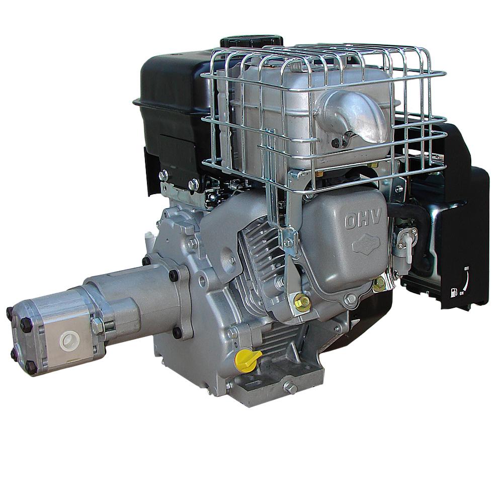 hydraulikaggregat b s benzin motor mit pumpe 200bar z b. Black Bedroom Furniture Sets. Home Design Ideas