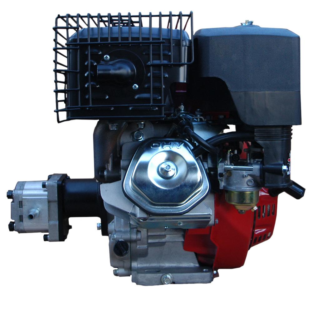 hydraulikaggregat 11ps benzin motor mit pumpe 200bar z b. Black Bedroom Furniture Sets. Home Design Ideas