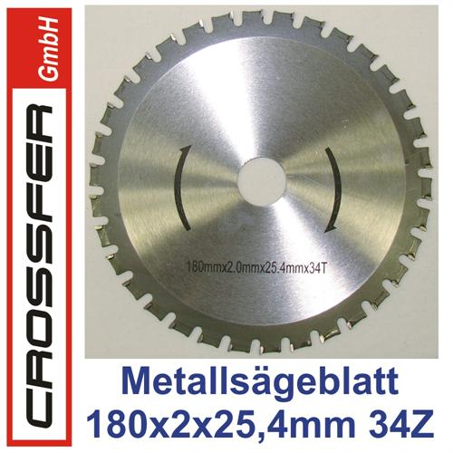 180mm HMC Universal-Sägeblatt für Metalle
