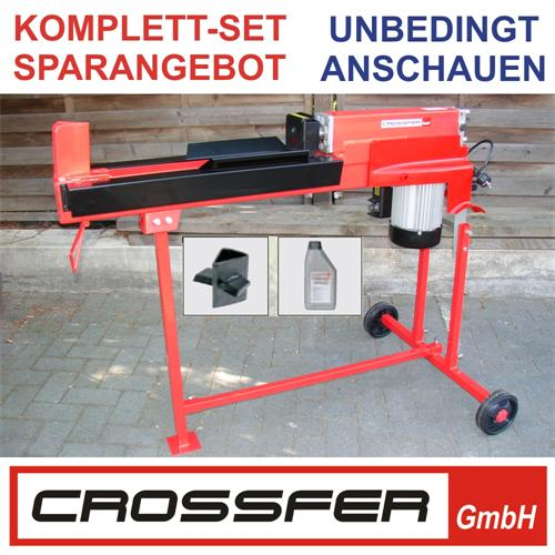 5 To Set 3 Holzspalter liegend 230V 52 cm Vario
