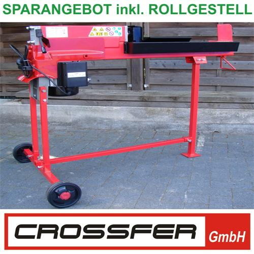 5 To Set 2 Holzspalter liegend 230V 52 cm Vario