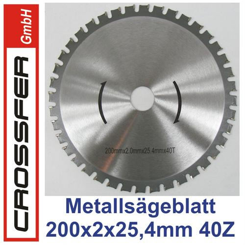 200mm HMC Universal-Sägeblatt für Metalle