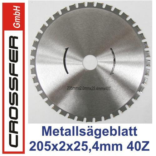 205mm HMC Universal-Sägeblatt für Metalle