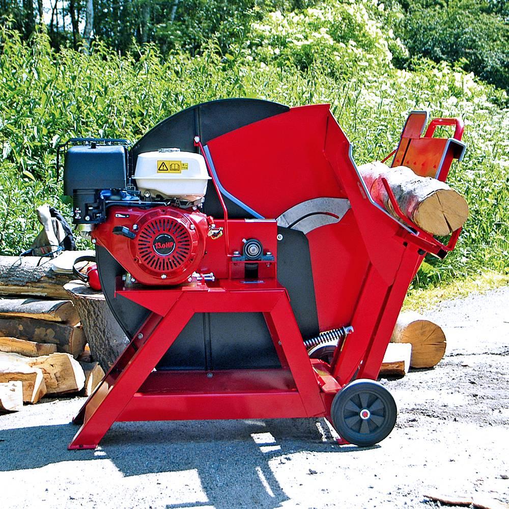 Brennholzsu00e4ge Wippkreissu00e4ge 700mm Mit 13 PS Benzinmotor Inklusive 700mm Su00e4geblatt Hartmetall