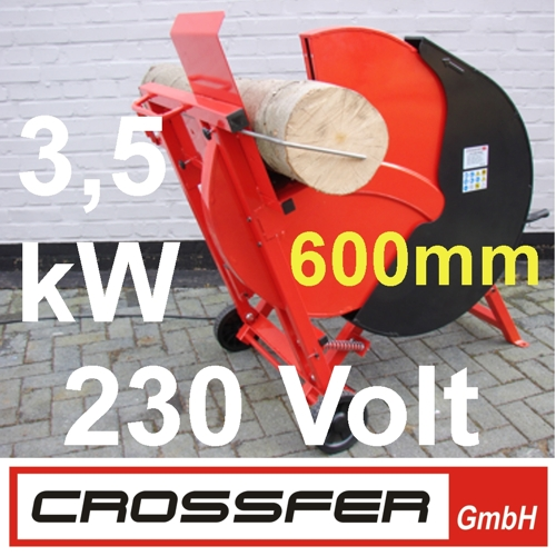 WS600-230V Wippsäge 230V inkl. 600mm HM-Sägeblatt
