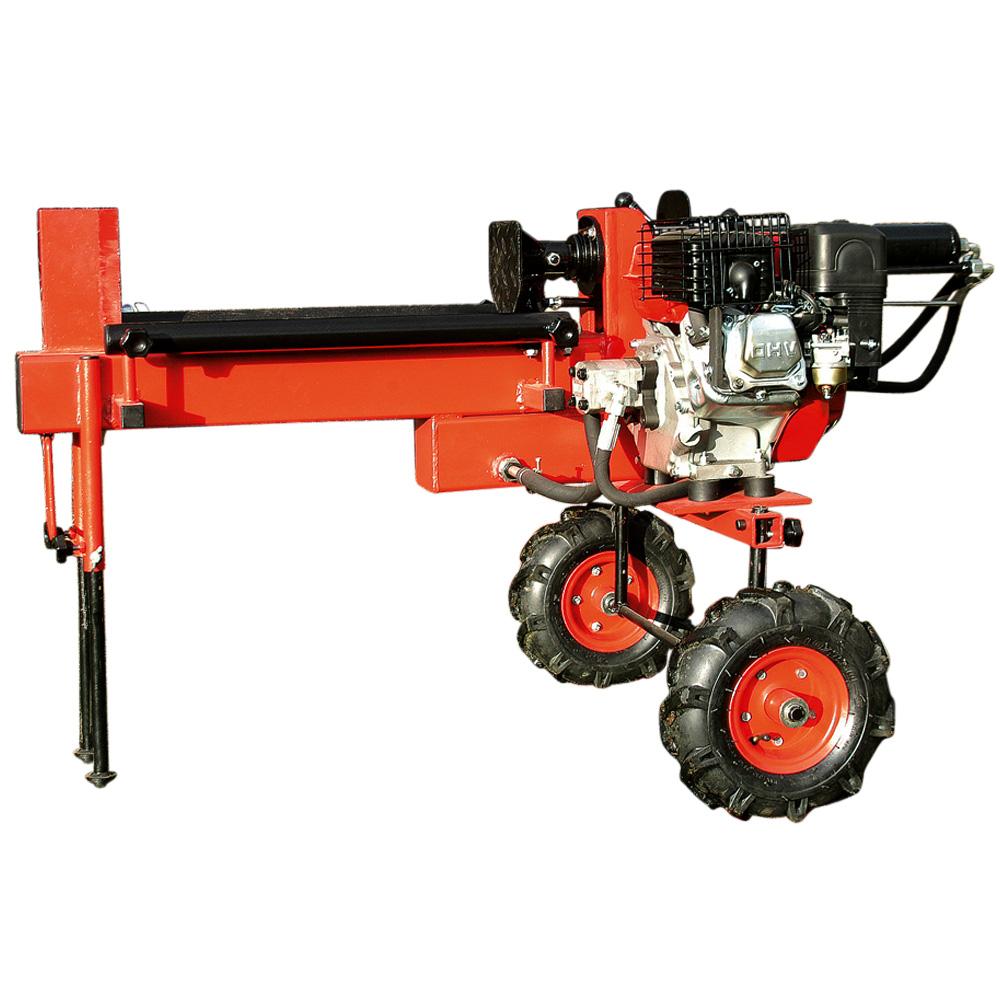 12 To Holzspalter liegend Benzinmotor 52 cm
