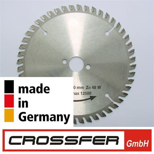 160 mm 48Z PROFI HM-Sägeblatt Holz-Feinschnitt