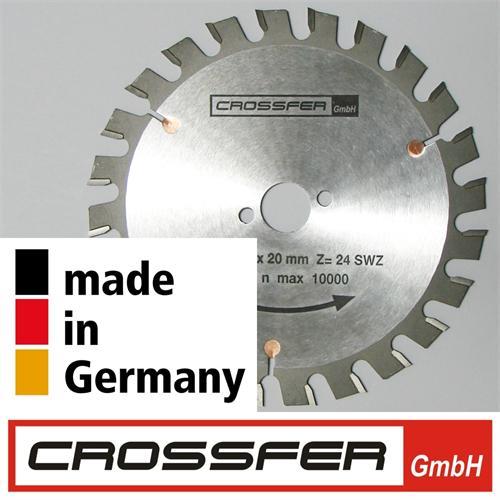 160 mm NAGELFESTES HM Sägeblatt Holz-Grobschnitt