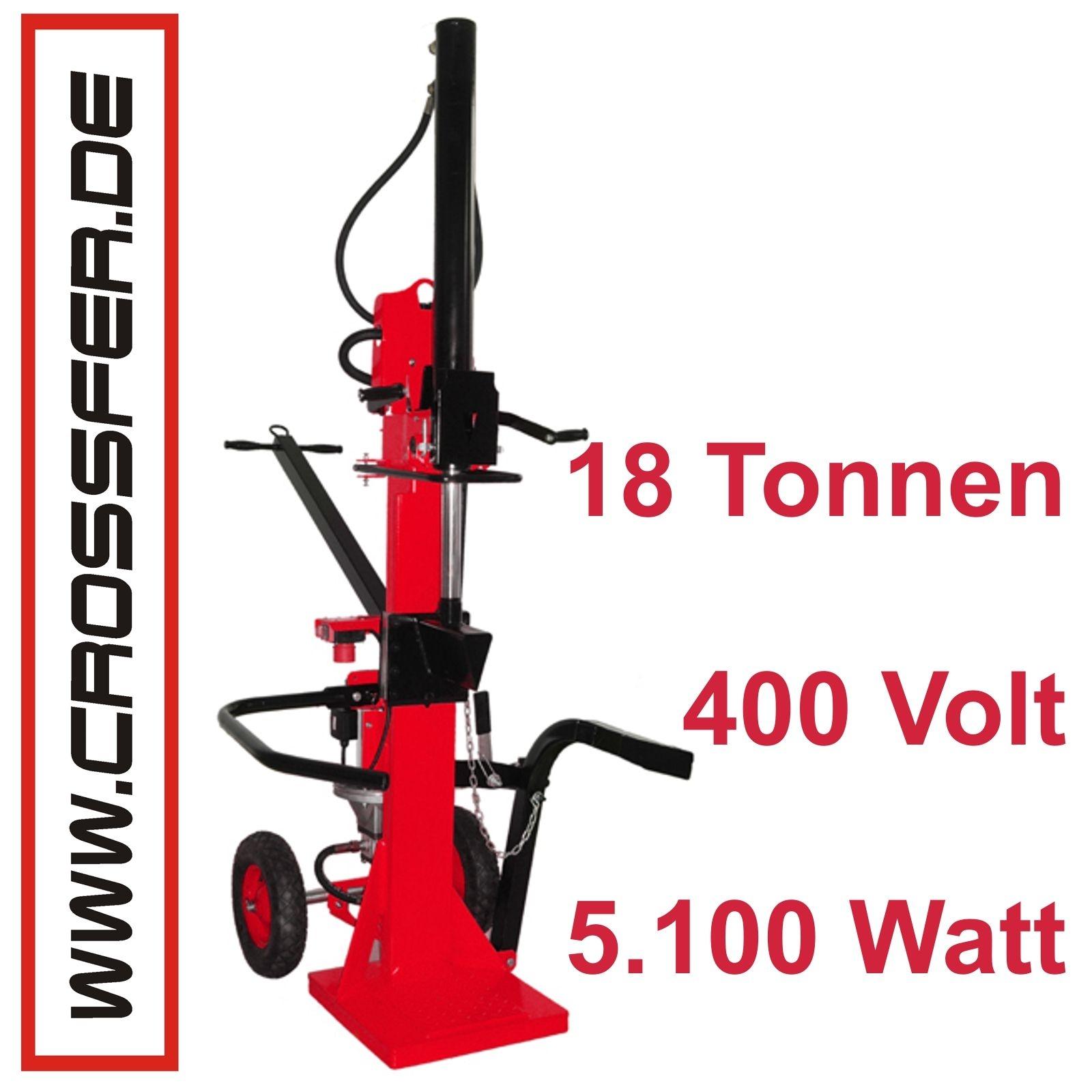 18 To Holzspalter stehend 400V 5,1kW