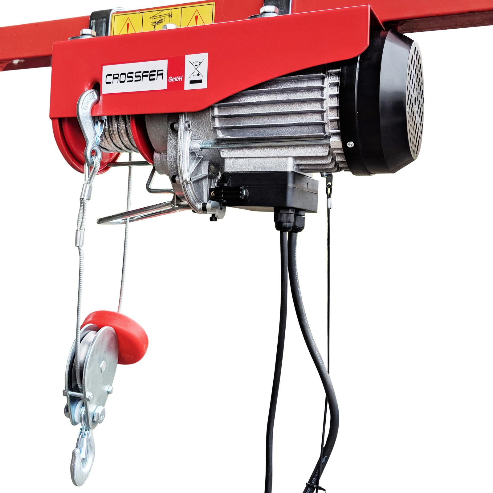 Elektro-Seilzug PA800A mit Umlenkrolle