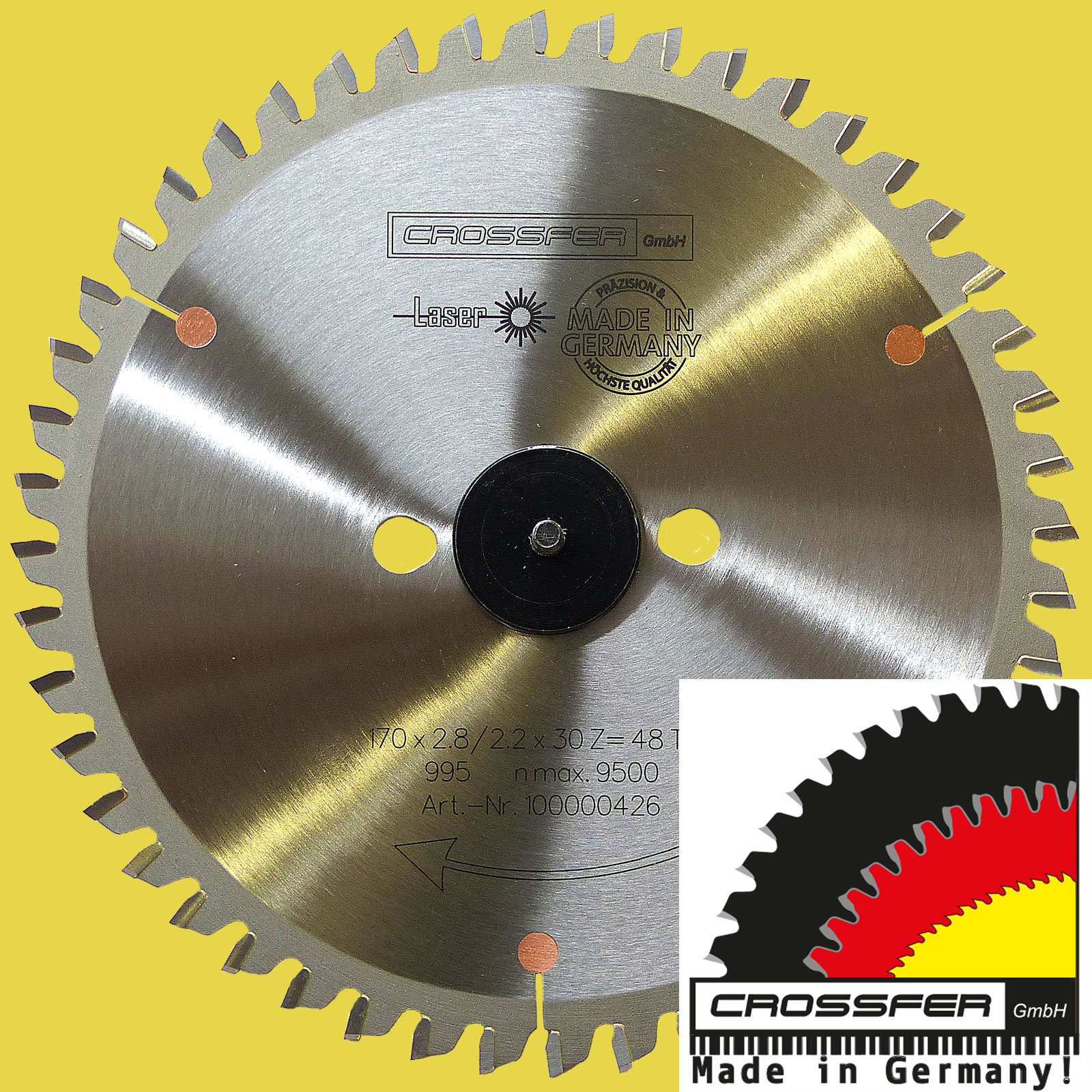 170mm PROFI Aluminium HM NE-Metall-Kunstoff SB