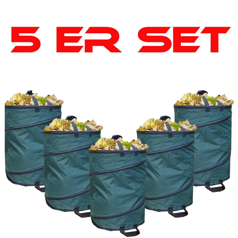 5er Set Garten Abfallsack SAMMELMAX