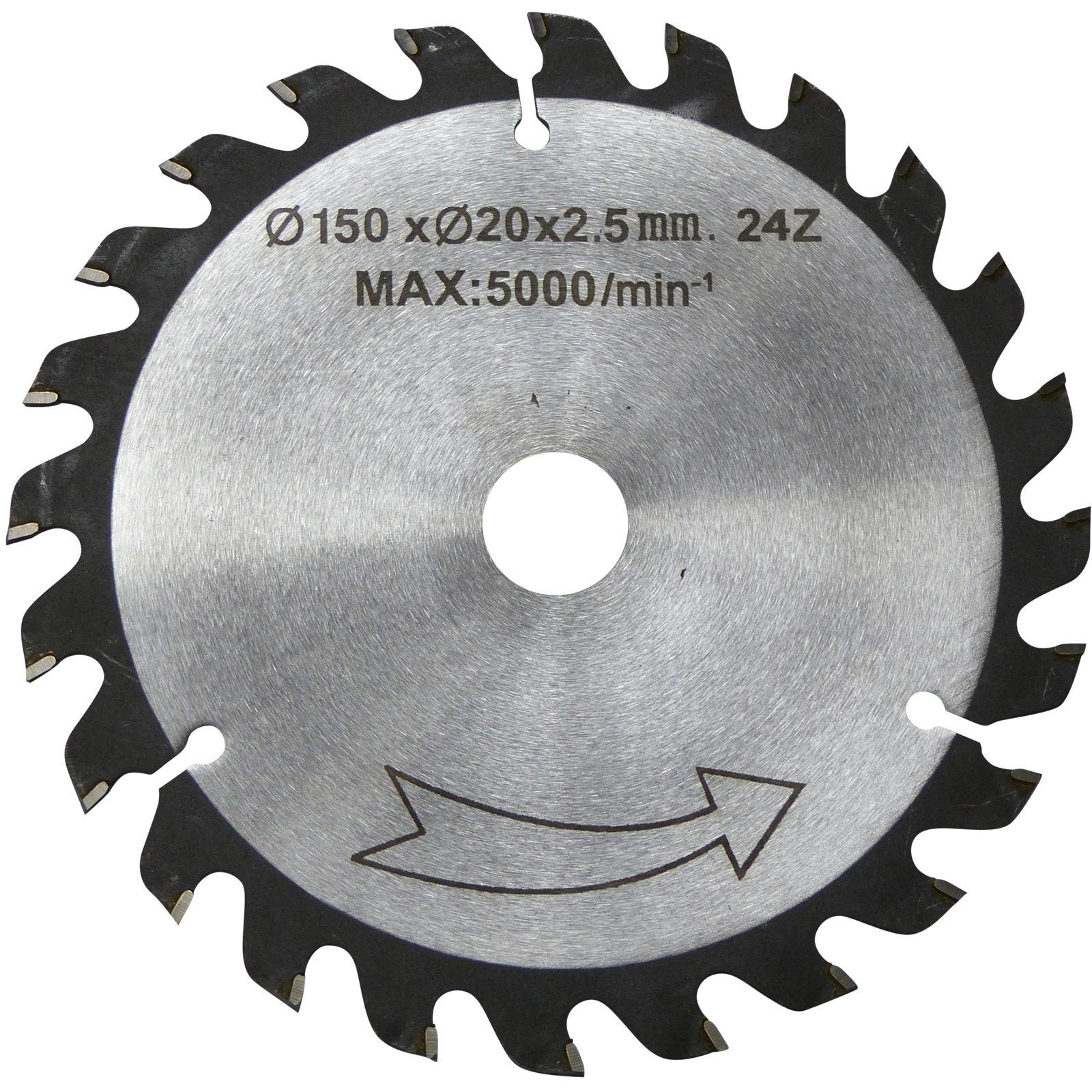 150 mm QUALITÄTS HM-Sägeblatt Holz-Grobschnitt
