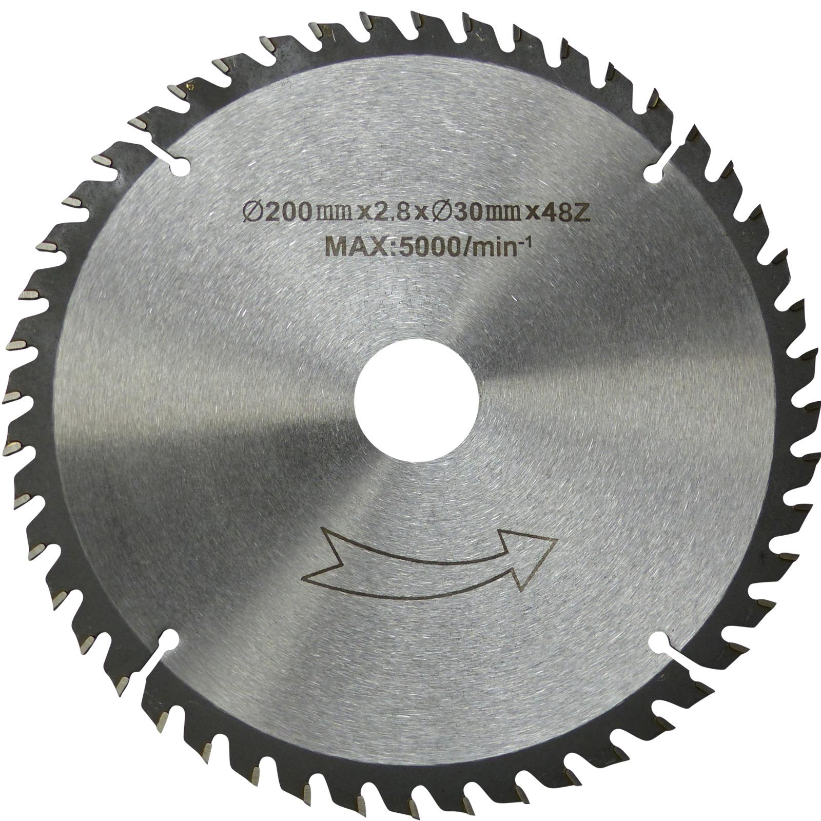 200 mm QUALITÄTS HM-Sägeblatt Holz-Grobschnitt