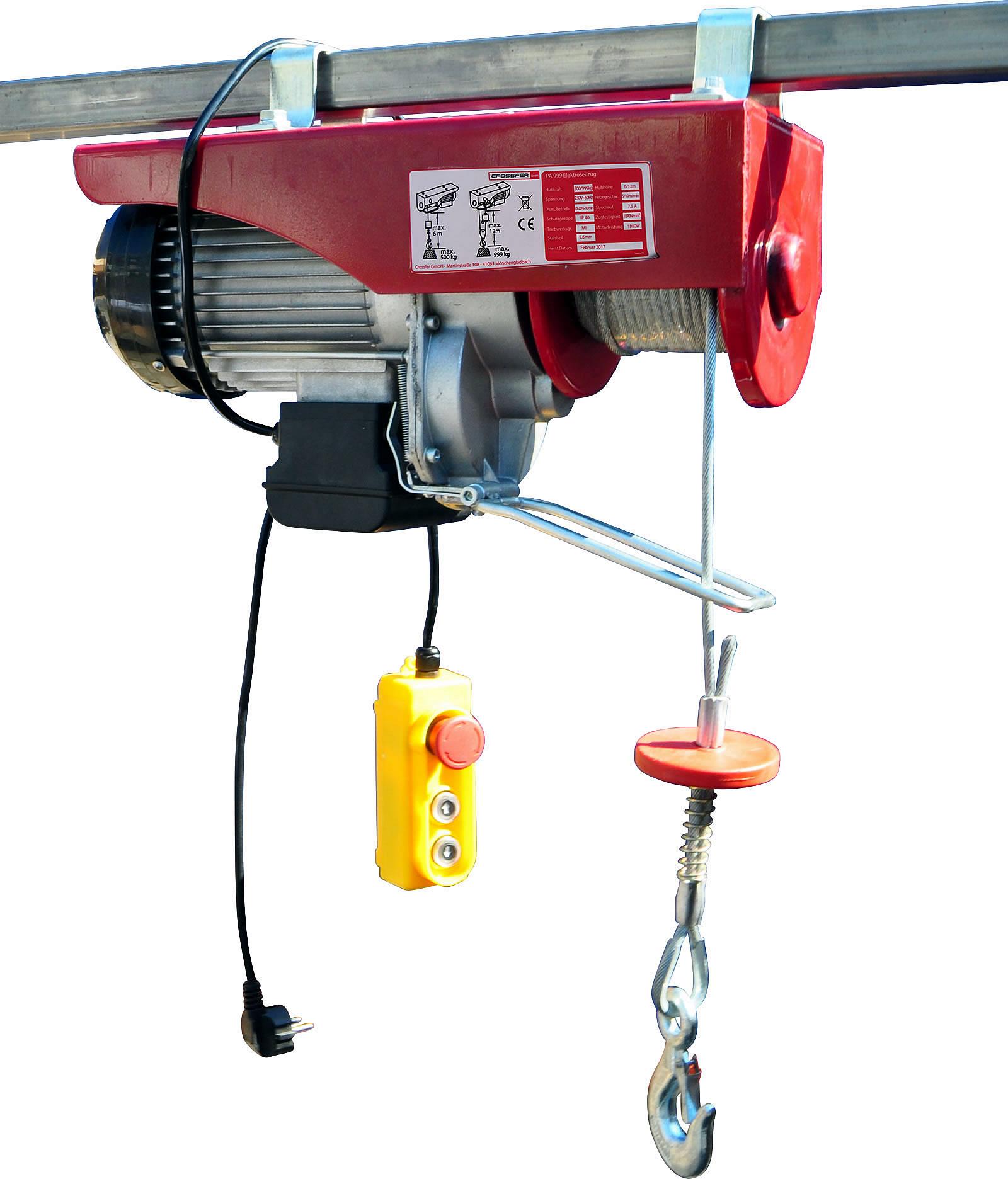 Elektro-Seilzug PA999 mit Umlenkrolle