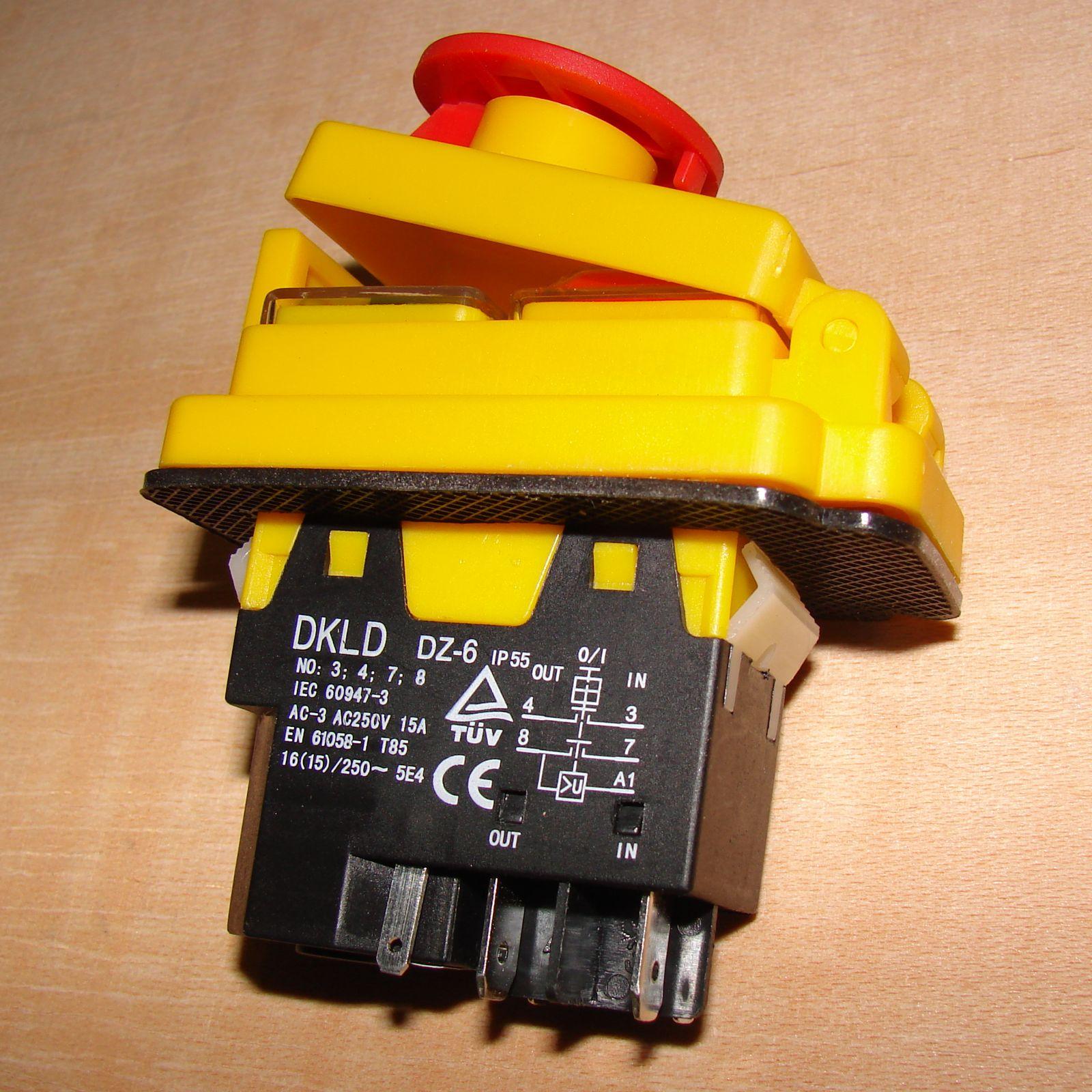 Magnetschalter 230 Volt 15a Kjd17b Dkld Dz 6