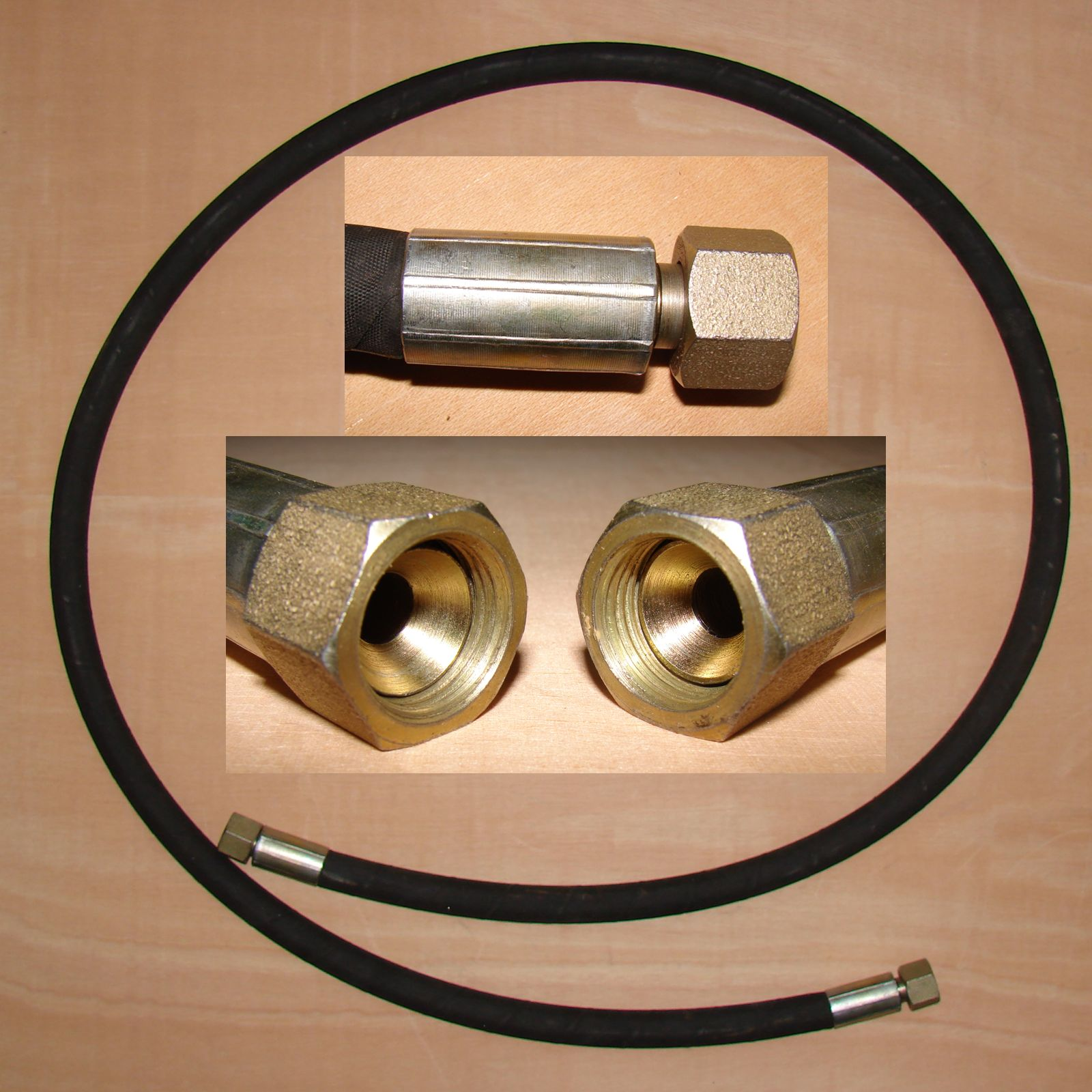 Hydraulik Hochdruckschlauch 40MPa 222 cm