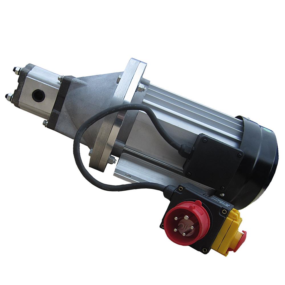 Hydraulikaggregat Elektromotor 5500W, 200bar Pumpe