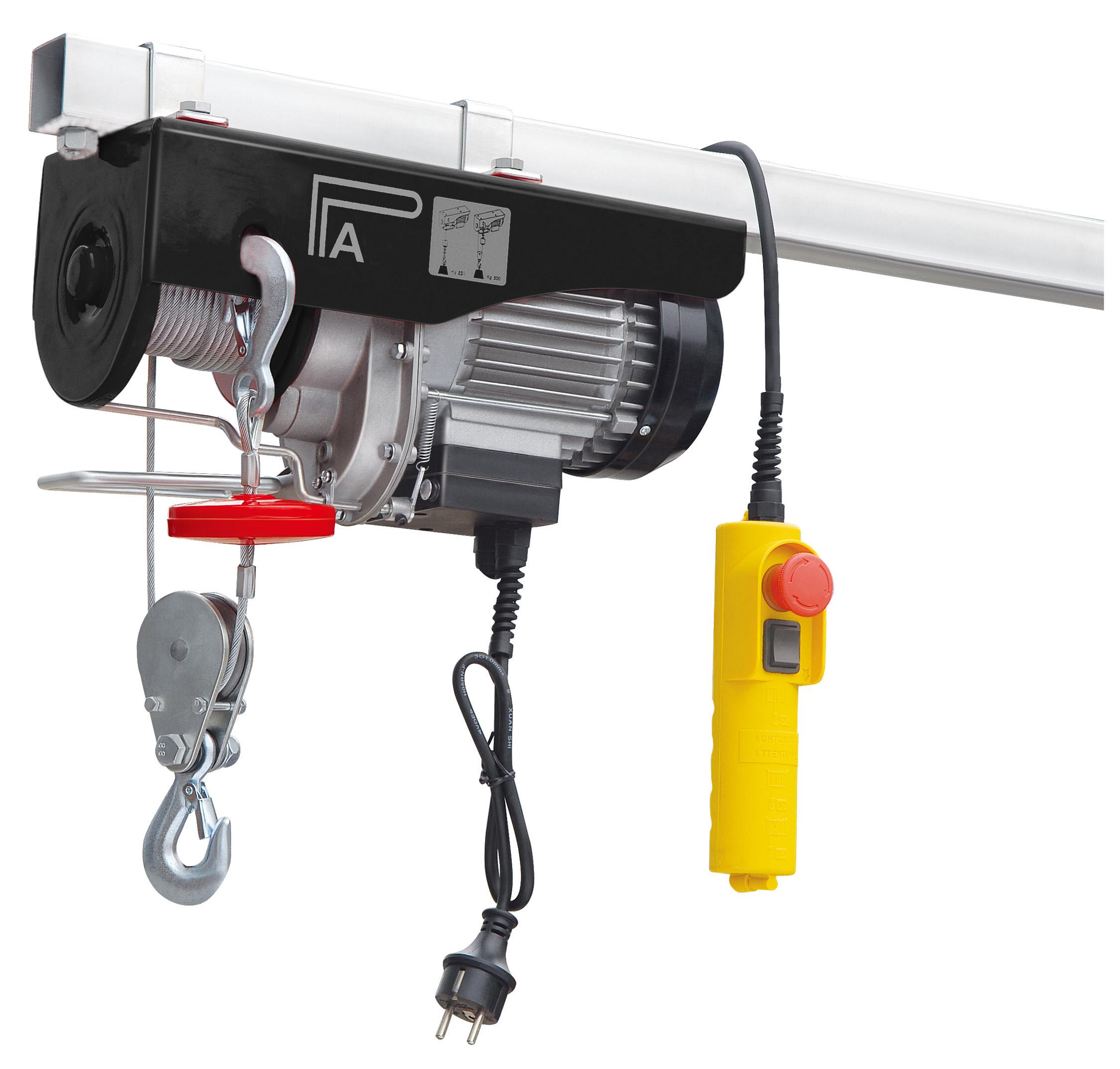 Elektro-Seilzug PA600D-18M mit Umlenkrolle