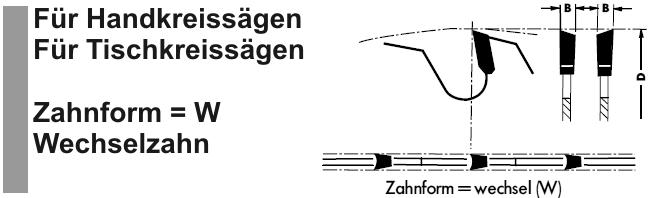 Crossfer Sägeblatt Wechselzahn