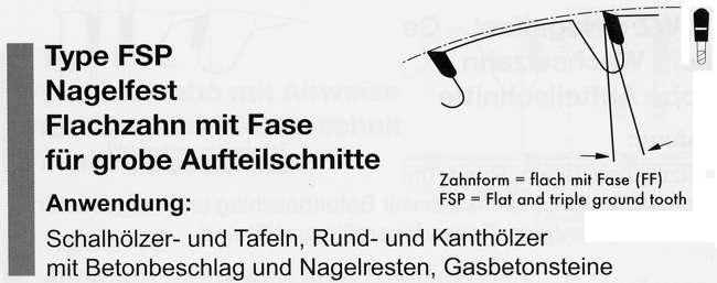 Nagelfestes Sägeblatt Crossfer